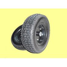 Pneumatique en caoutchouc roues 13 X 500-6 avec jante métal pour brouette