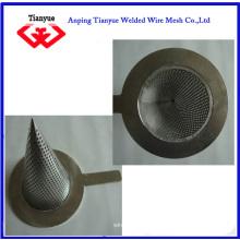Filtre à mailles métalliques Ss 316 Cone Type (TYB-0066)