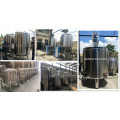 Stainless-steel Magnetic Double Jacketed Mixing Tank 1000l