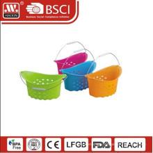 new plastic handy basket