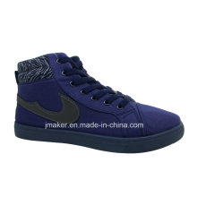 New Arrival High Top Men′s Injection Sport Shoes (J2607-M)