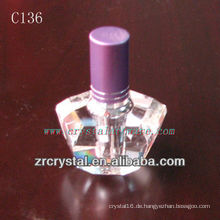 Schöne Kristallparfümflasche C136