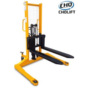1T 2.5M hand Stacker with Straddle Legs