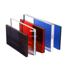 OLEG high quality customized color factory price acrylic sheet board
