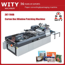 2015 lastest Carton Box Window Patching Machines
