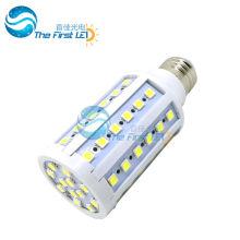 5050 smd llevado luz de maíz 10w AC220v 90-260v e27 e14 20lm / led blanco caliente blanco lámpara led 15w