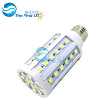 5050 smd led corn light 10w AC220v 90-260v e27 e14 20lm/led warm white cool white led lamp 15w