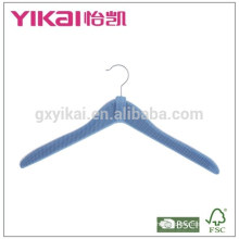 Fancy soft mesh padded clothes hanger in high-density net painting