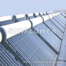 Géiser de agua solar presurizado