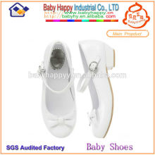 bowknot flossy wholesale kids shoes