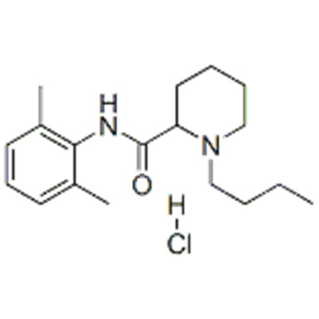 Name: 2-Piperidinecarboxamide,1-butyl-N-(2,6-dimethylphenyl)-, hydrochloride (1:1) CAS 18010-40-7