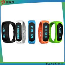 Bracelet futé de Bluetooth avec le moniteur de sommeil de fonction de podomètre de calorie