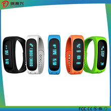 Bluetooth Smart Bracelet with Calorie Pedometer Function Sleep Monitor