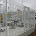 CE certificated Powder coated Curved Welded Mesh Fence