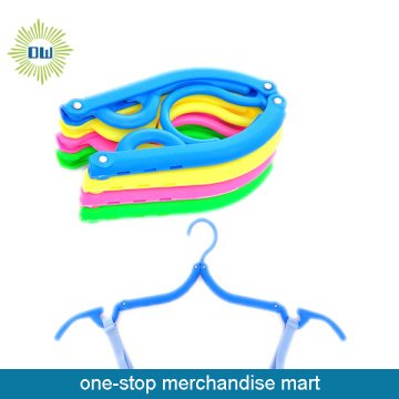 travel foldable plastic hanger