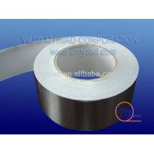 Papel de aluminio Cinta de fibra de vidrio, material reflectante y de plata para techos
