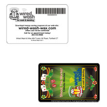 Environmental Recycle Plastic Card