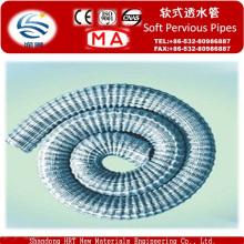 El CE aprobó el tubo de desagüe suave del PVC, fuente de la fábrica directamente