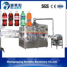 Carbonated Beverage Drinks Automatic Bottling Filling Machine