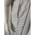 Moroccan Men Cotton Blend Delicate Embroidery Grey