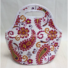 Fashionable and Custom Neoprene Tote Bag with Handle