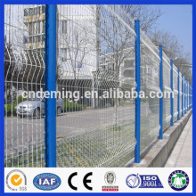 Trade assurance galvanized curved welded wire mesh fence panel