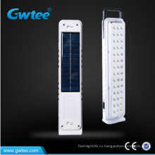 Высокое качество чрезвычайных перезаряжаемые солнечных светодиодных огней
