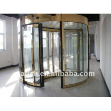 Two wings revolving door