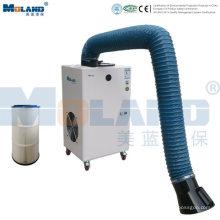 Extractor de humos de soldadura móvil industrial portátil