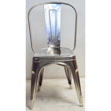 Industrial Metal Chrome Nickel Plated Chair