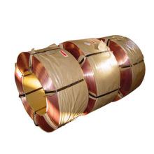 Fil de perle de pneu enduit par bronze de 1.0mm