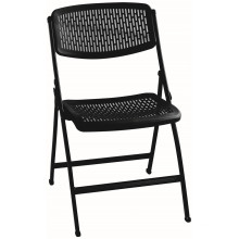 Cadeira de plástico dobrável