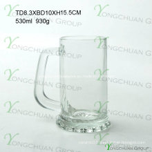 500ml Nice Glass Beer Cup Clearly Good Quality