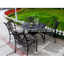aluminum sand casting of outdoor furniture and leisure chair&table sets