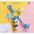 Donald And Daisy Duck Keychain