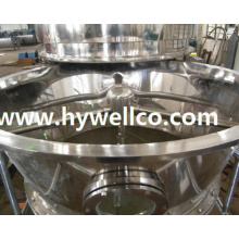 High Efficiency Konjac Powder Fluidized Dryer