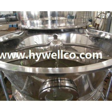 Kecekapan Tinggi Konjac Powder Fluidized Dryer