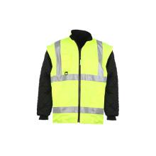 Hohe Sichtbarkeit Reflektierende Sicherheit Hoodie Sweatshirt