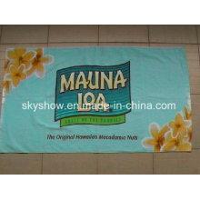 Customed toalla impresión reactiva (SST0267)