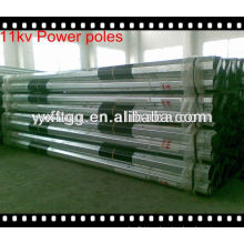 Galvanizado electric pole, electric pole fabricante