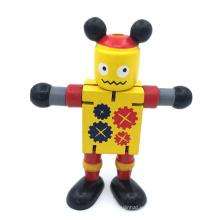 robot de juguete de madera diy