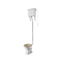 Kits de chasse d'eau à levier haut pour toilettes avec du matériel en laiton populaire au Royaume-Uni