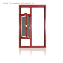 Fenêtres architecturales en aluminium à coupure thermique (FT-W135)