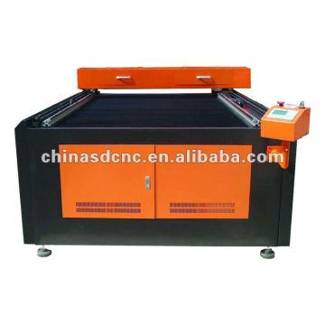 Máquina de corte a laser de tecido JK-1218 com tubo 100W Reci