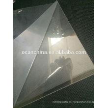Hoja clara del animal doméstico 0.5mm, hoja rígida del animal doméstico transparente, hoja del animal doméstico