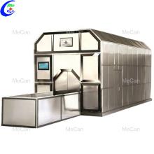 Machine de crémation de carburant ou de gaz en acier inoxydable