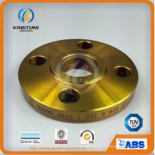 Brides de rf d'acier au carbone ANSI B16.5 A105 / A181 / A182 / A350 (KT0383)