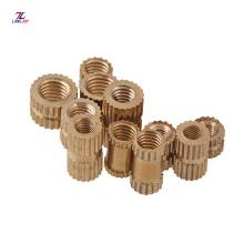 brass lock nut wing nut brass knurlet thumb nut