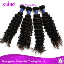 Hot Sale Virgin Deep Wave Hair Weave Extension