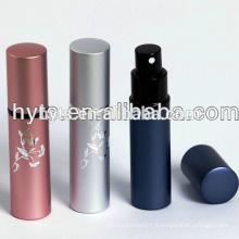atomiseur de parfum en aluminium rechargeable
